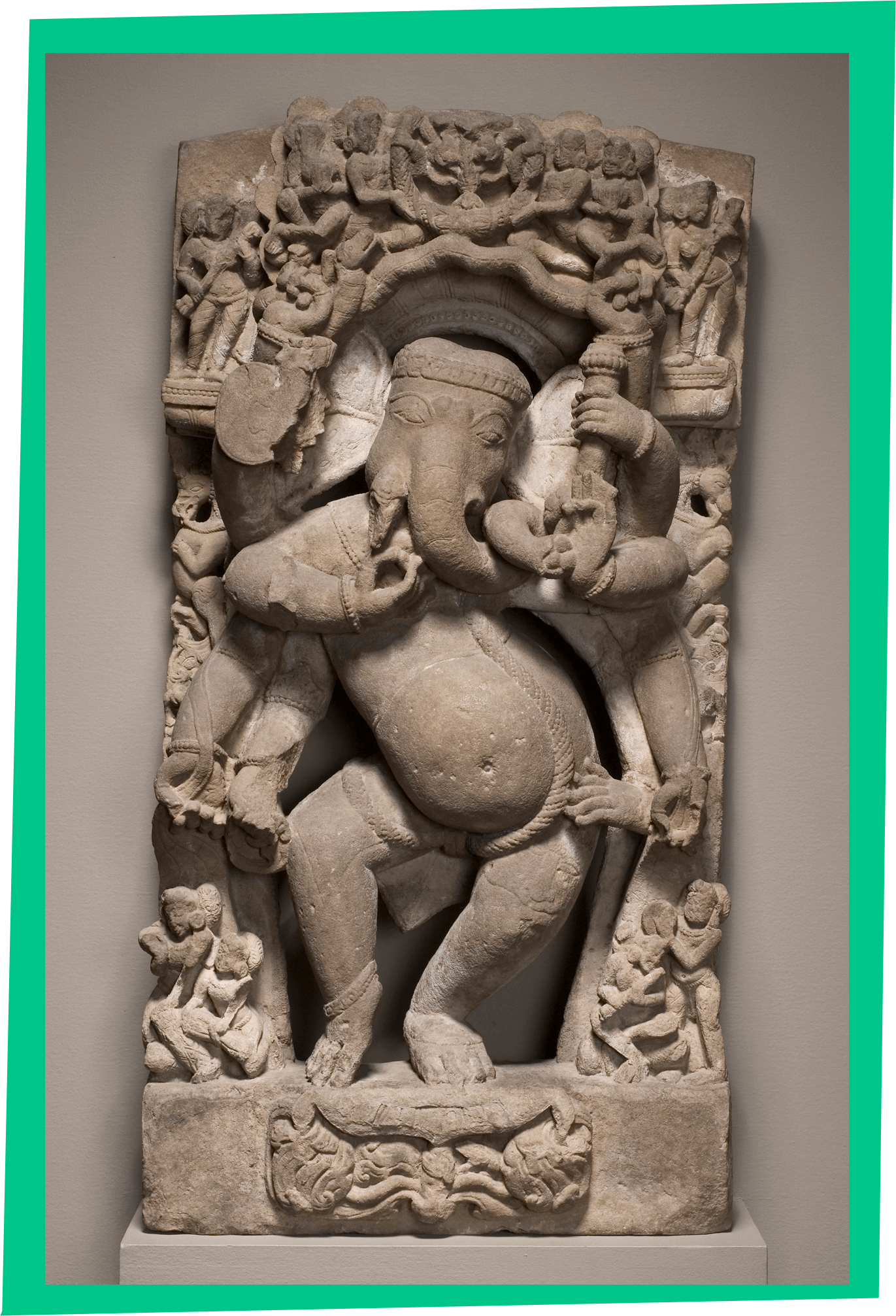 Indian Dancing Ganesha