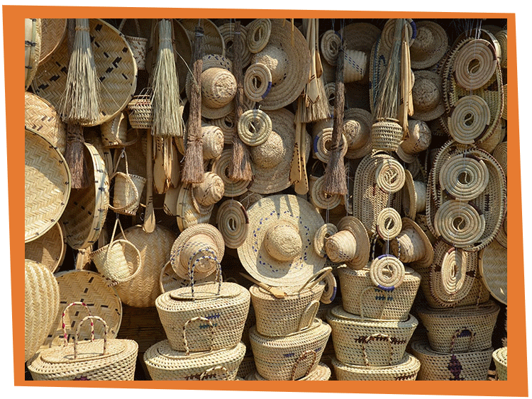 Baskets & Hats