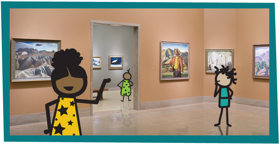 Gallery 219 with Illustrated kids